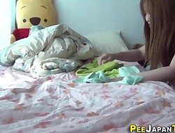 Asian teenagers wetting bed