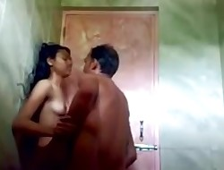 Bangla,Desi Female Screwed With Bf In Bathroom