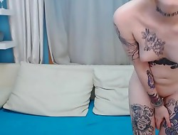 young tattooed russian cam-slut