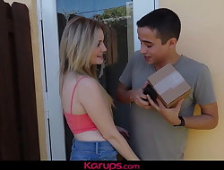 Karups -  Britney Light Fucked For Stealing Package