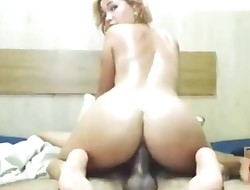 Teen Anal invasion by Ginormous Stiff Cock on Homemade Amateur Webcam